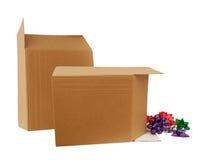 Carton boxs Royalty Free Stock Photos