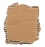 Carton déchiré Images stock