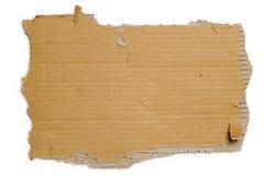Carton déchiré Photo libre de droits