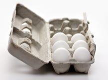 Carton of Eggs Royalty Free Stock Image