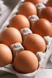 Carton of eggs Stock Photos