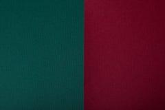 Carton foncé de turquoise Image libre de droits