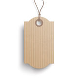 Carton Hanging Classic Round Rectangle Price Sticker Royalty Free Stock Photography