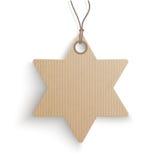 Carton Hanging David Star Price Sticker Stock Images