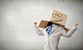 Carton head Stock Photos