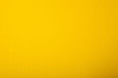 Carton jaune lumineux Photo stock