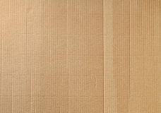 Carton ondulé Photographie stock libre de droits
