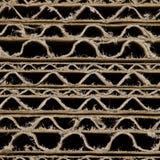 Carton ondulé de Brown Image stock