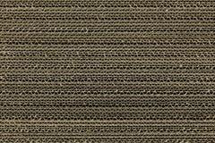 Carton ondulé de Brown Photographie stock