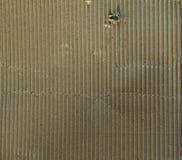 Carton ondulé de Brown avec le trou Image libre de droits