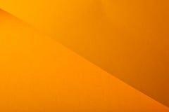 Carton orange Photo libre de droits