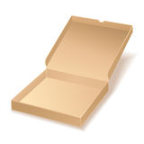 Carton pizza box Royalty Free Stock Photos