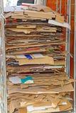 Carton recycling Stock Photo