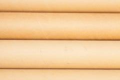 Carton tubes Royalty Free Stock Image