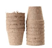 Carton vase Royalty Free Stock Photos