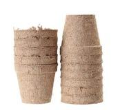 Carton vase Royalty Free Stock Photos