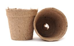 Carton vases Stock Image