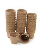 Carton vases Stock Photography