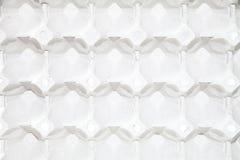 Carton vide d'oeufs Image stock