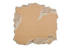 Cartone lacerato Immagini Stock