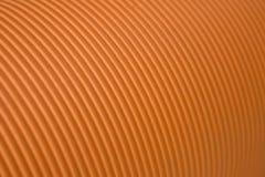 Cartone ondulato arancione Fotografie Stock Libere da Diritti