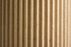 Cartone ondulato arrotondato Fotografie Stock
