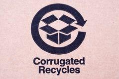 Cartone riciclato Immagini Stock