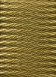 Cartone strappato dorato Fotografie Stock Libere da Diritti