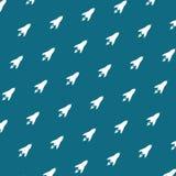 cartonn grafische de illustratie van het het conceptenpatroon van de ruimtevaartraket Royalty-vrije Stock Afbeelding