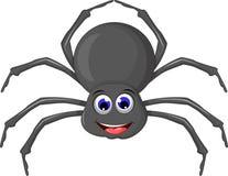 Cartoo pająk dla ciebie projektuje royalty ilustracja