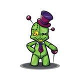 Cartoonкуклы Voodoo Стоковое Фото