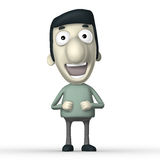 Cartoon 3D character Royalty Free Stock Photography