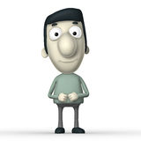 Cartoon 3D character Royalty Free Stock Photos