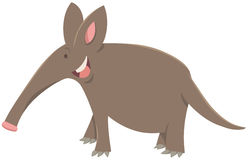 Cartoon aardvark animal character. Cartoon Illustration of Cute Aardvark Animal Character stock illustration
