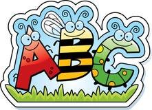 Cartoon ABC Text Stock Photos