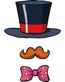 Cartoon accessories magician Stock Photo