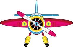 Cartoon Aeroplane Royalty Free Stock Photos