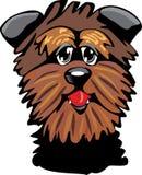 Cartoon Affenpinscher dog Stock Image