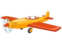 Cartoon Airplane Stock Image