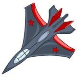 Cartoon Airplane Stock Image