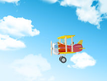 Cartoon airplane Royalty Free Stock Image