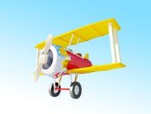 Cartoon airplane Royalty Free Stock Image