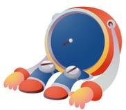 Cartoon alarm clock Royalty Free Stock Images