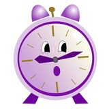 Cartoon alarm clock Royalty Free Stock Images