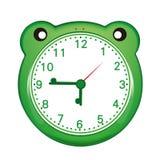 Cartoon alarm clock. Cartoon of an alarm clock Stock Photography