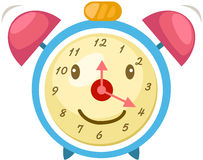 Free Cartoon Alarm Clock Royalty Free Stock Photos - 26327718