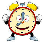 Cartoon alarm clock Royalty Free Stock Photography