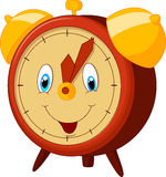 Cartoon alarm clock Stock Image