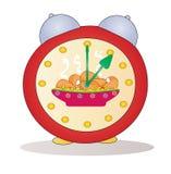 Cartoon alarm clock vector Stock Images