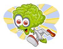Cartoon alien Stock Image
